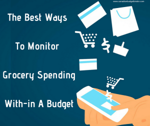 The Best Ways To Monitor Grocery Spending With-in A Budget