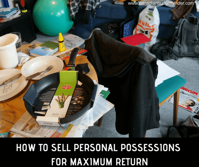 HOW TO SELL PERSONAL POSSESSIONS FOR MAXIMUM RETURN-1