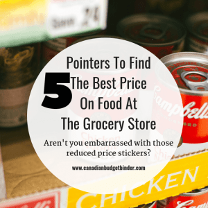 Pointers To Find The Best Price On Food At The Grocery Store