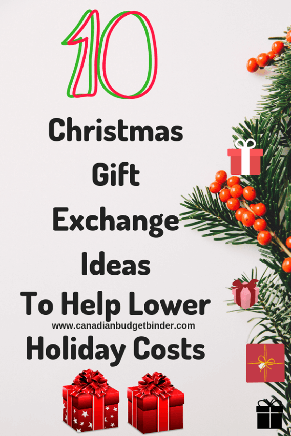 Christmas Gift Exchange Ideas.10 Christmas Gift Exchange Ideas To Help Lower Holiday Costs