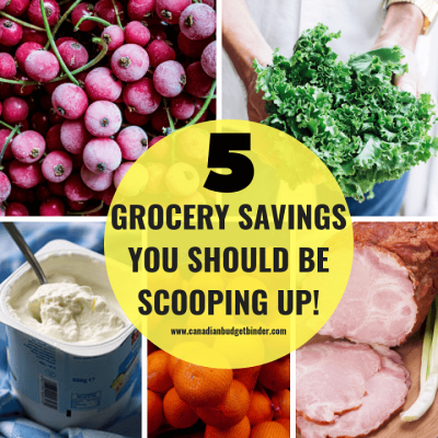 5 Grocery Savings You Should Be Scooping Up : The GGC #1 2018 Nov 5-11