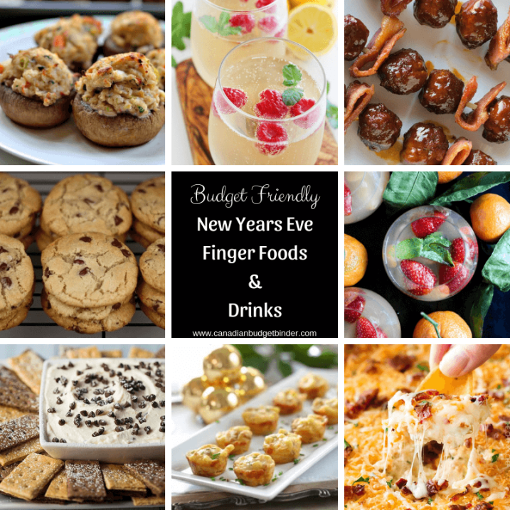 Budget Friendly New Years Eve Keto Finger Foods and Drinks