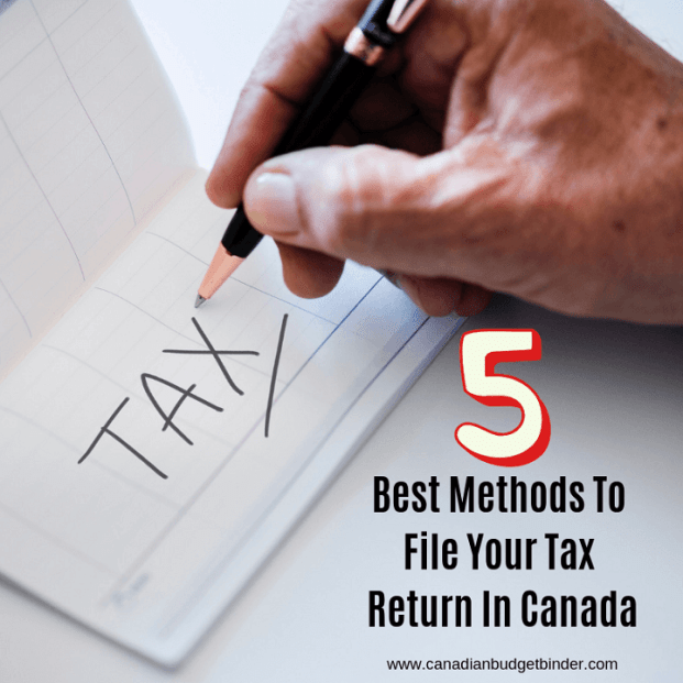 Top Methods To File Your Tax Return In Canada