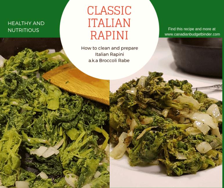 classic italian rapini