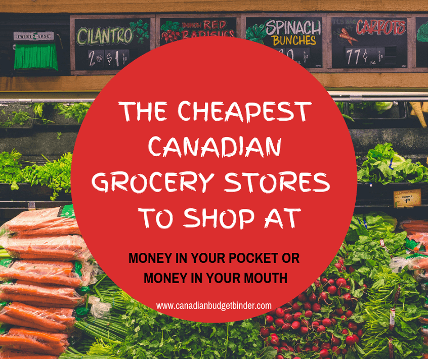 The Cheapest Canadian Grocery Stores To Shop At