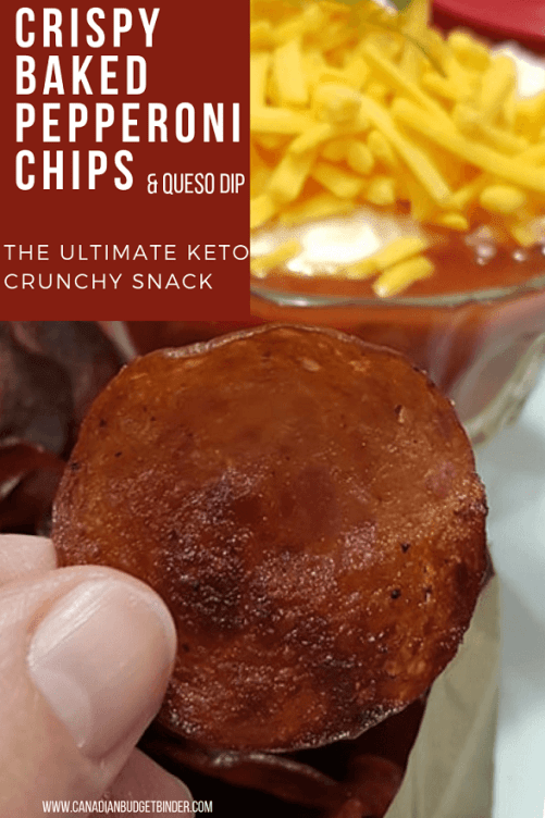 the ultimate baked pepperoni chips keto 2