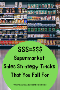 Supermarket Sales Strategy Tricks You Fall For