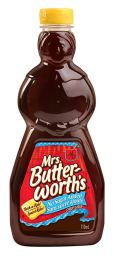 mrs butterworths sugar free maple syrup