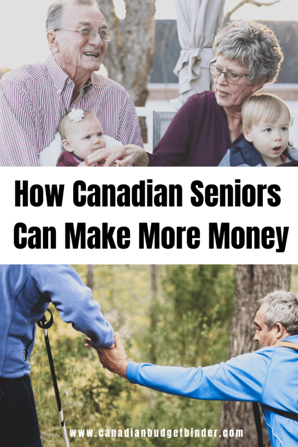 seniors make extra money