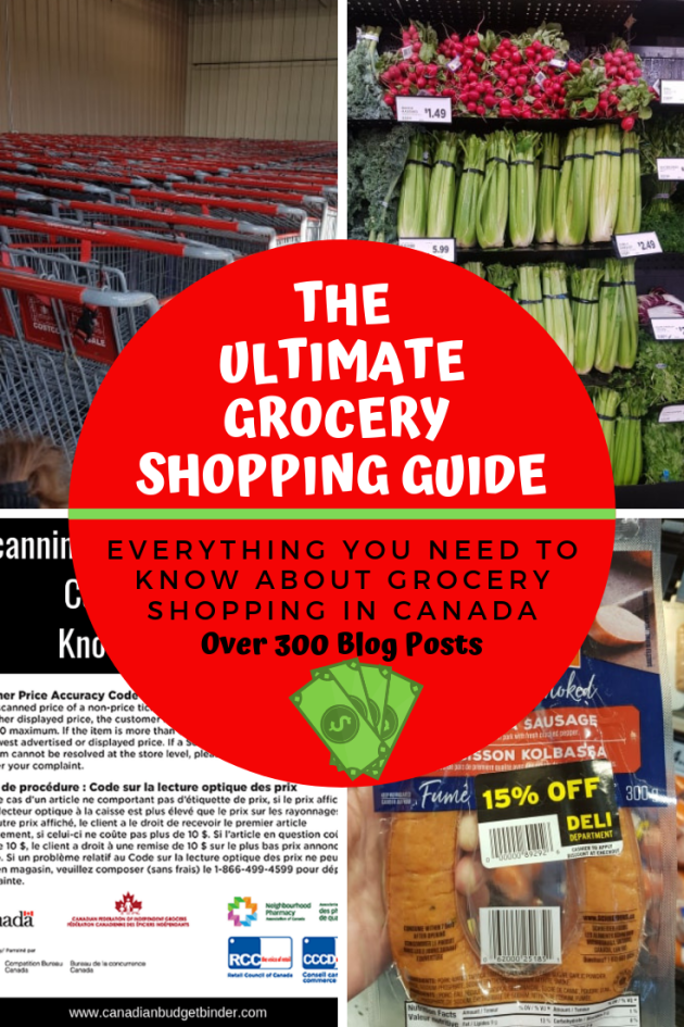 Canadian Grocery Savings Guide
