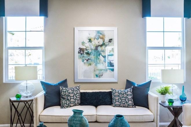 decorated apartment