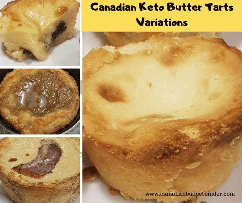 Canadian Keto Butter Tarts