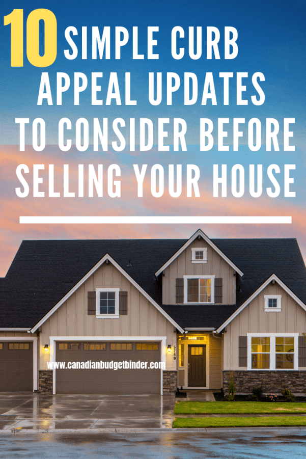 budget curb appeal updates