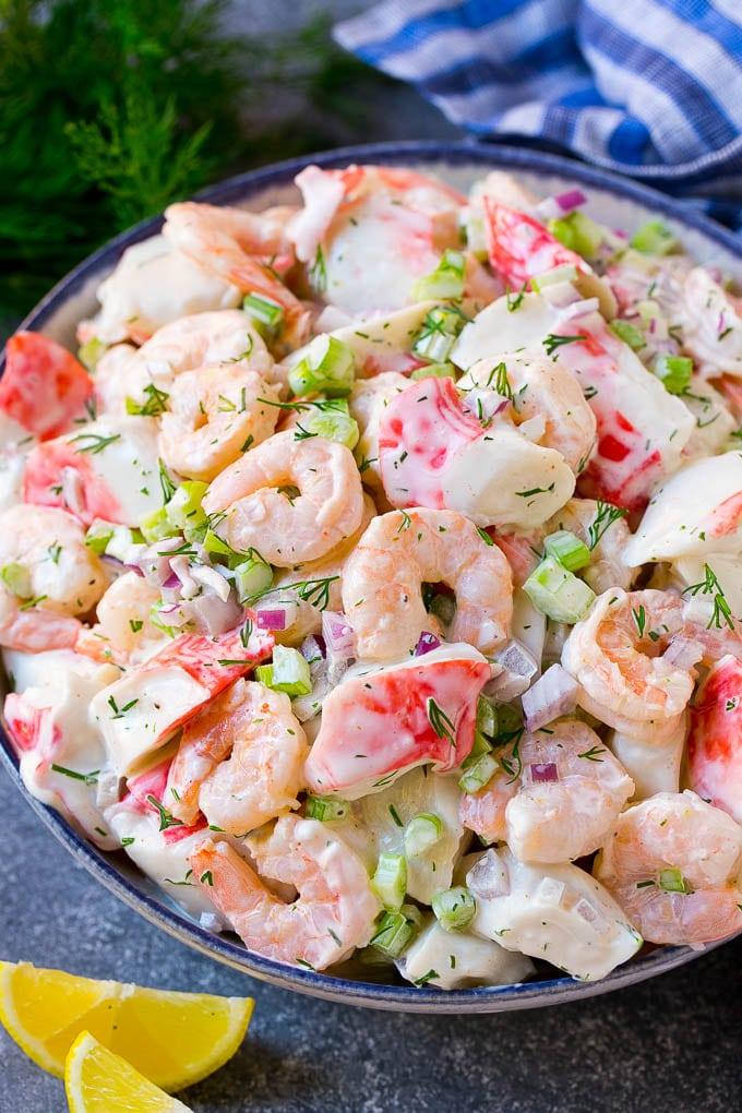 shrimp seafood salad
