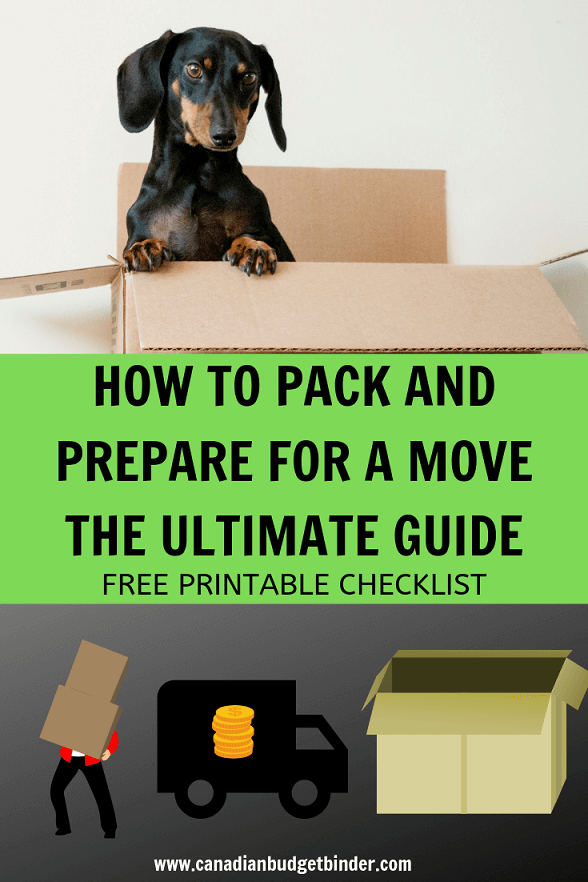 moving and packing tips