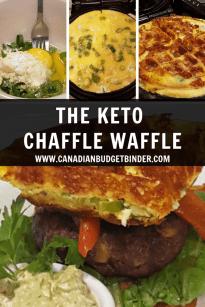 Simple Keto Chaffle Waffles Canadian Budget Binder