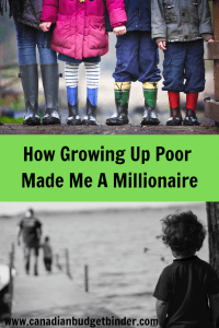 growing up poor