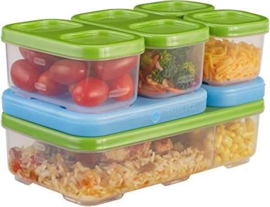 rubbermaid lunch bloks for kindergarten