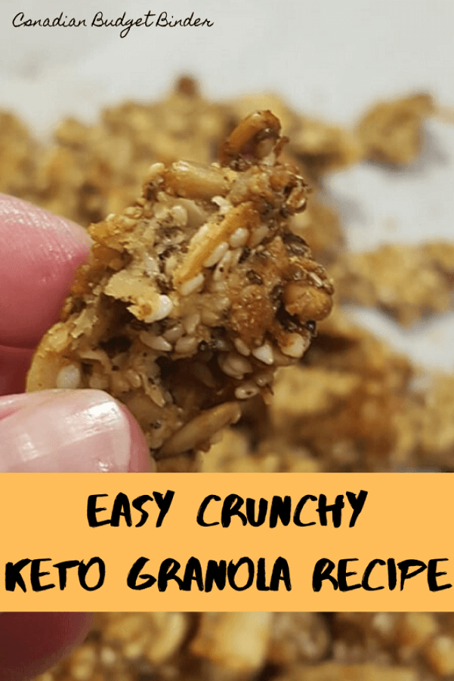 low carb granola