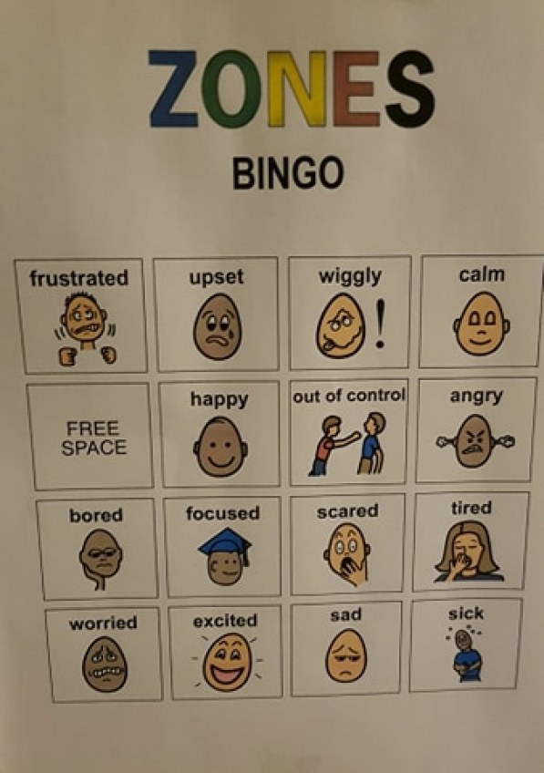 Educational BINGO for kids