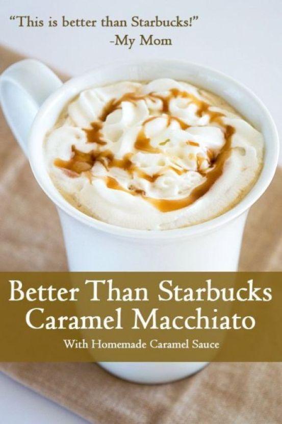 Caramel Macchiato Starbucks Recipe