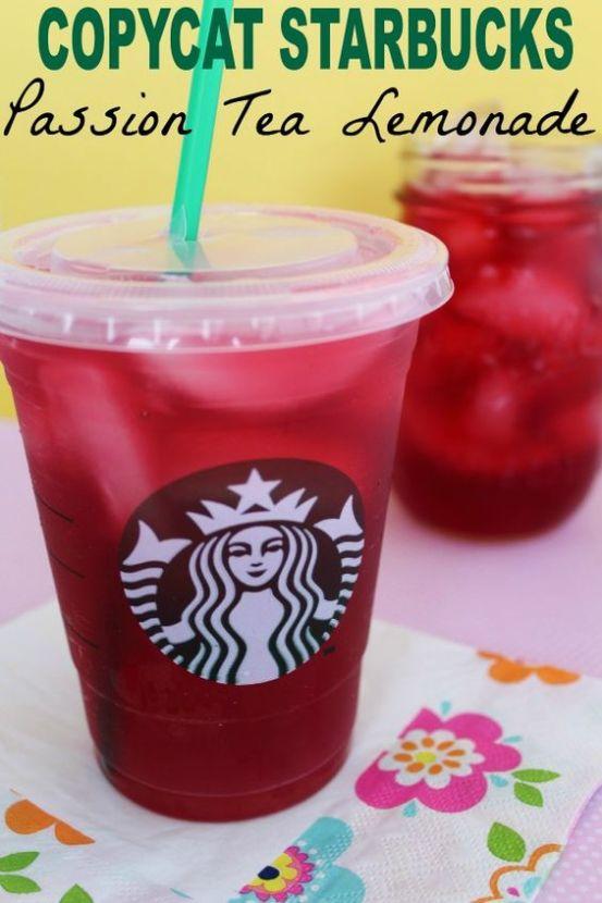 Starbucks Passion Tea Copycat