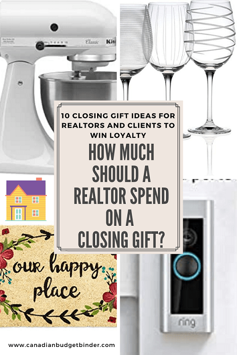 realtor closing gift