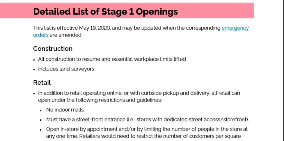 Ontario Openings