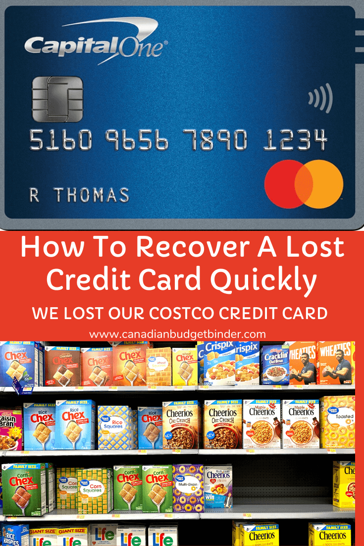 How To Recover A Lost Credit Card Quickly 2