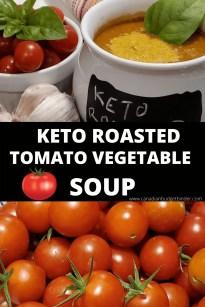 Sopa de vegetais com tomate tostado ceto 3