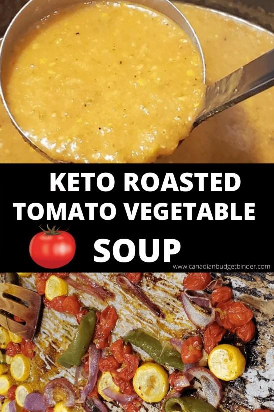 Quick Keto Tomato Soup