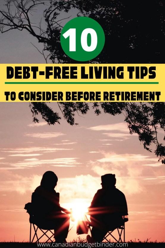debt-free living tips