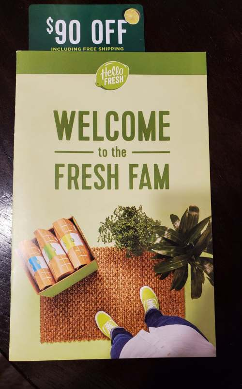 Welcome to the Hello Fresh