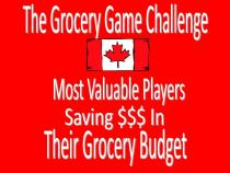 The Grocery Game Challenge Canada MVP
