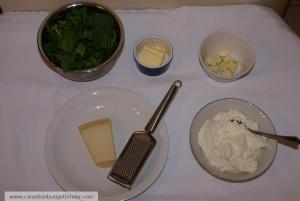 Ricotta Spinach Pasta Ingredients