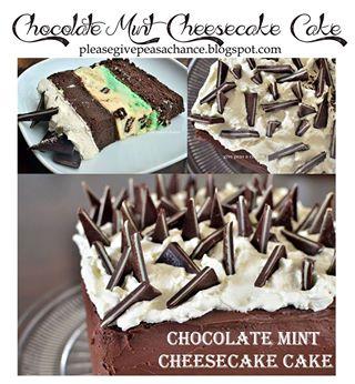 chocolate-mint-cheesecake