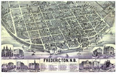 Interactive Historical Maps of Fredericton, New Brunswick