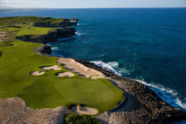 18th hole at Faldo Legacy Course