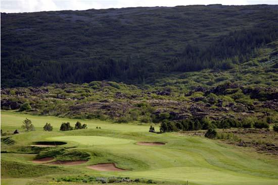 Oddor Golf Course - Urridavollur Iceland