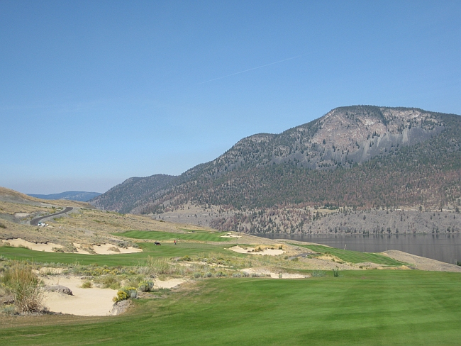 Sagebrush: Rod Whitman and Richard Zokol have created a fascinating course full of a options near Merritt, BC.