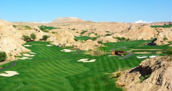 1st hole at Wolf Creek Gold Club