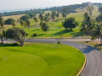 Varadero Golf Club overhead