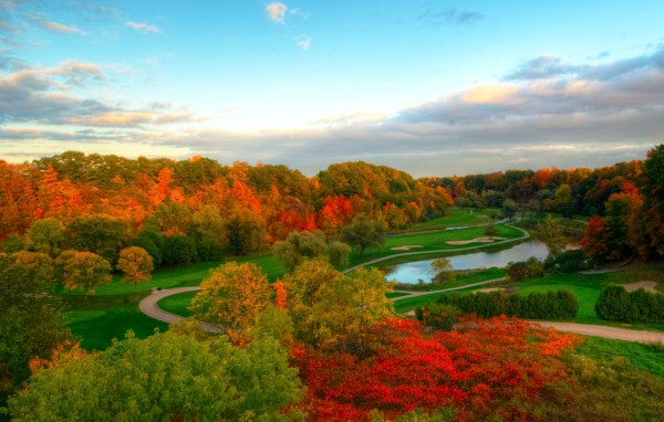 The valley holes at Glen Abbey Golf Club in Oakville.