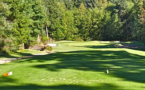 The Par 3 #13th Hole at Storey Creek GC