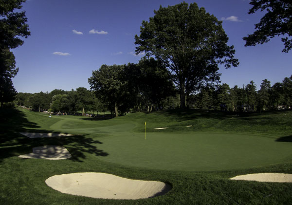 13th hole at Oak Hill