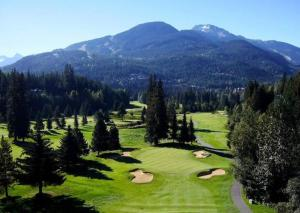 Whistler Golf Club: Designer Ed Seay did a nice job of this Whistler classic.