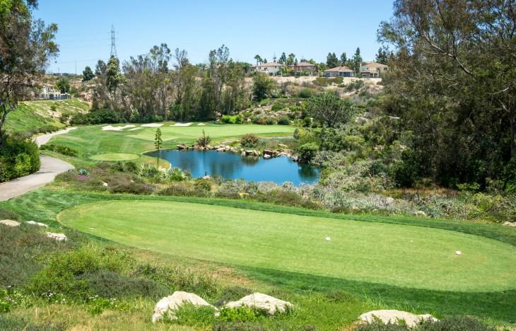14th hole Aviara Golf Club