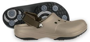 Is this the latest trend in comfy golf footwear fashion?
