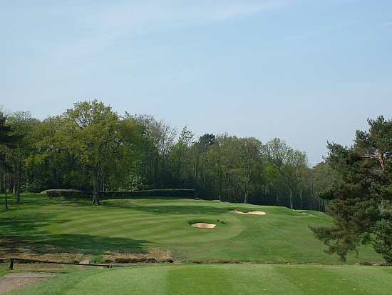 All-world: The Second at Woking, a tough par-3, is as good as it gets.