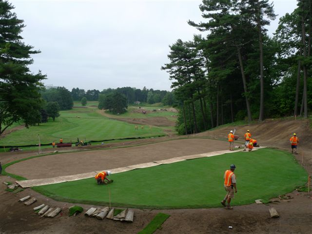 Restoration or renovation?: The 11th green at Toronto Golf Club gets a new location